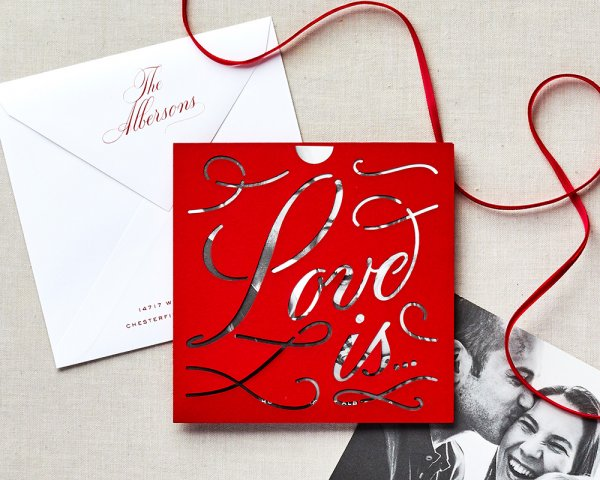 love is... holiday card