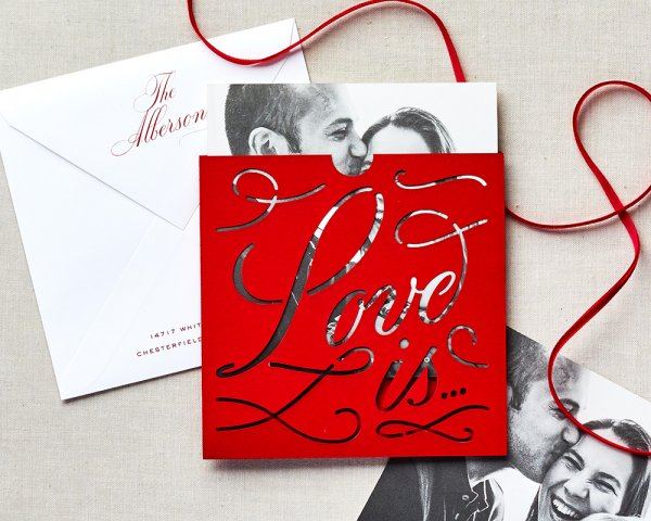 love is... pocket holiday card